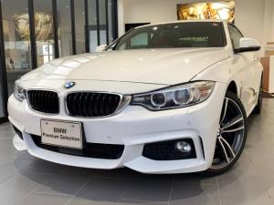 BMW 4シリーズ 440iクーペ Mスポーツ 赤レザーシート 純正HDDナビ ACC HUディスプレイ