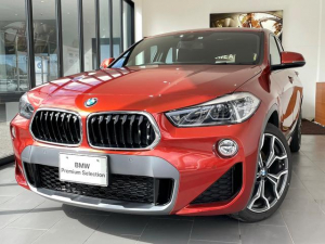 BMW X2 sDrive 18i MスポーツX ハイラインパック レザーシート ACC 電動パワーシート 純正HDDナビ