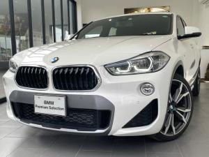BMW X2 sDrive 18i MスポーツX 弊社社有車 純正HDDナビ バックカメラ スマートキー 20インチAW