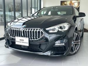 BMW 2シリーズ 218iグランクーペ Mスポーツ 現行モデル 純正HDDナビ バックカメラ レザーシート スマートキー ACC LED PDC 自動駐車支援機能付き