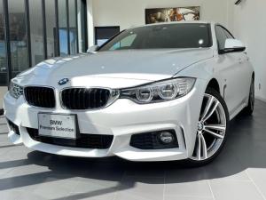 BMW 4シリーズ 420iグランクーペ Mスポーツ 純正HDDナビ ヘッドアップディスプレイ 19インチAW ACC PDC スマートキー バックカメラ
