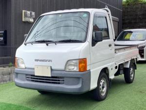 スバル サンバートラック  5速マニュアル 4WD パワステ 三方開