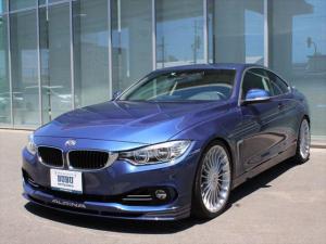 BMWアルピナ B4 ビターボ クーペ オプションカラー デコライン サンルーフ バックカメラ 20インチAW 黒革シート シートヒーター HDDナビ 地デジ KW車庫調 クルーズコントロール スイッチトロニック LEDヘッドライト