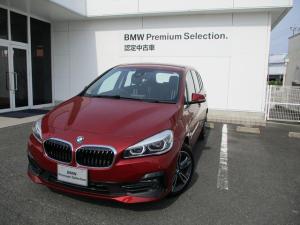 BMW 2シリーズ 218dグランツアラー スポーツ コンフォートP ACC