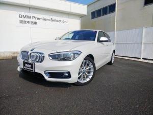 BMW 1シリーズ 118iファッショニスタ オイスターレザーACC 1オーナー