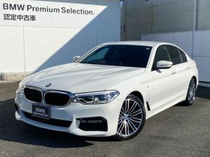 BMW 5シリーズ 523d Mスポーツ 19インチ パドルシフト 電動トランクリッド アダプティブLEDヘッドライト  DVD再生 地デジチューナー ワンオーナー 最長4年保証可能