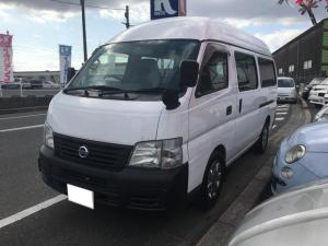 日産 キャラバンマイクロバス SロングGX 福祉車両