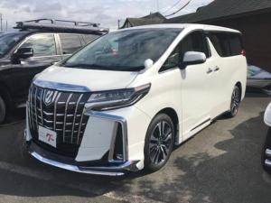 トヨタ アルファード 2.5X モデリスタエアロ