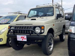 スズキ ジムニー XC インタークーラーターボ ルーフキャリア 4WD 社外アルミ ETC CDオーディオ