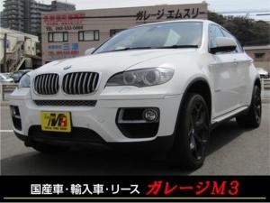BMW X6 xDrive 50i 4WD サンルーフ 赤革 20インチアルミ