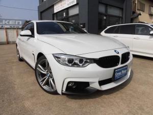 BMW 4シリーズ 420iグランクーペ Mスポーツ 赤革シート・地デジ・OP19・インテリジェントセーフティー・車線逸脱警告・オートトランク・リアモニター