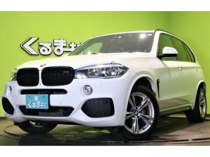 BMW X5 xDrive35dMスポーツ フルセグナビSR黒革 4WD