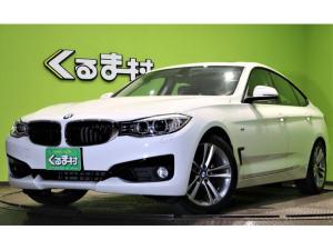 BMW 3シリーズ 320iグランツーリスモ スポーツ SR 黒革 HDDナビ Bカメラ SR 黒革Pシート&ヒーター アイドリングS 電動リヤウィング Pトランク ミラーETC Bソナー ミラーウィンカー 革巻ステア パドルシフト 18AW 4気筒ターボ 8AT