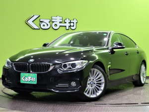 BMW 4シリーズ 420iグランクーペ ラグジュアリー 1オーナー車 純正HDDナビ Bカメラ 本革Pシートヒーター インテリジェントセーフティ 車線逸脱警報 クルコン アイドリングS 革巻ステア Pトランク オートHID&フォグ 18AW 直列4気筒ターボ 8AT