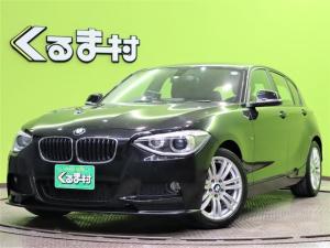 BMW 1シリーズ 116i スポーツ Mスポーツ仕様 3DデザインFスポイラー 純正ディスプレイオーディオ Bカメラ アイドリングS オートHID&フォグライト スマートキー 革巻ステア ETC Mスポーツエアロ&17AW 4気筒ターボ 8AT