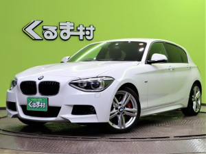 BMW 1シリーズ 116i Mスポーツ 純正HDDナビ Bカメラ スマートキー アイドリングS 革巻ステア オートLED&フォグライト Bソナー ドライブレコーダー ETC Mスポーツブレーキキャリパー 18AW 8AT