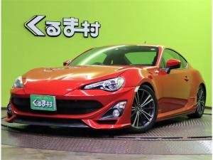 トヨタ 86 GT/TOM'Sエアロ/車高調/6MT/ 7型フルセグSDナビ/DVD再生/Pスタート/スマートキー/電格ミラー/革巻ステア/ドライブレコーダー/ETC/オートHID&フォグ/17W/BLITZ車高調/TOM'sエアロ/6MT
