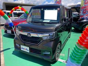 ホンダ N-BOXカスタム G・EXターボホンダセンシング リアカメラ ナビTV LED ETC クルコン CD