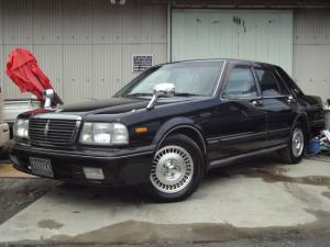 日産 セドリック ブロアム タクシー仕様 LPG車 エアー式自動ドア 15インチアルミ V6エンジン タンク期限令和4年1月まで リア三面フィルム貼りフェンダーミラー