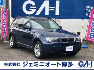 BMW X3 2.5i Mスポーツパッケージ パノラマサンルーフ フルセグTV 1DINナビ