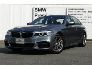 BMW 5シリーズ 523d xDrive Mスピリット ハイラインパッケージ 弊社デモカー i-Driveナビゲーション バックカメラ PDC アクティブクルーズコントロール LEDヘッドライト ブラックレザー ヘッドアップディスプレイ
