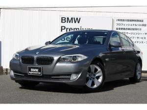 BMW 5シリーズ 528i ブラックレザー パワーシート キセノン クルコン リヤローラーブラインド 純正HDDナビ バックカメラ PDCセンサー 純正TVチューナー ETC