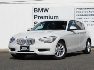 BMW 1シリーズ 116i スタイル キセノン 純正HDDナビゲーション パーキングサポートパッケージ  ETC 16インチAW