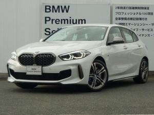 BMW 1シリーズ M135i xDrive デビューパッケージ ACC コンフォートP LEDヘッドライト アクティブクルーズコントロール i-Driveナビゲーション バックカメラ USB/Bluetoothオーディオ