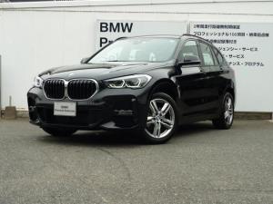 BMW X1 xDrive 18d Mスポーツ 18インチAW 純正HDDナビゲーション バックカメラ PDCセンサー LEDヘッドライト デモカー USB/Bluetoothオーディオ