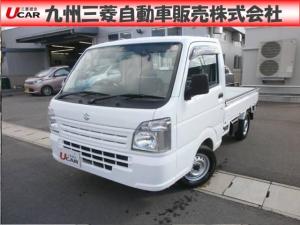 スズキ キャリイトラック KCパワステ 3方開 4WD