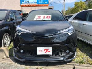 トヨタ C-HR G モデリスタエアロ メモリーナビ/地デジTV/クルコン