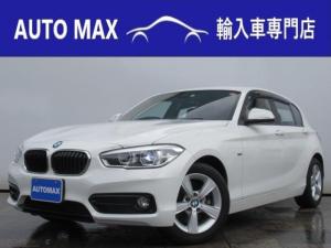 BMW 1シリーズ 118iスポーツパーキングサポートPKG純正HDDナビ