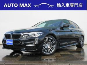 BMW 5シリーズ 523d Mスポーツ 1オーナー/イノベーションパッケージ/サンルーフ/ディスプレイキー/ジェスチャーコントロール/ヘッドアップディスプレイ/