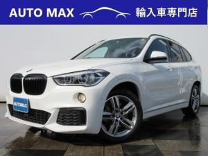 BMW X1 sDrive 18i Mスポーツ 純正HDDナビ/バックカメラ/社外地デジチューナー/コンフォートパッケージ/