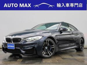BMW M4 M4クーペ 左ハンドル/インディビジュアルオーダーカラー/純正オプション19インチアルミ/ヘッドアップディスプレイ/サンルーフ/パークセンサー/
