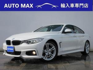 BMW 4シリーズ 420iグランクーペ Mスポーツ /1オーナー/純正HDDナビ/Bカメラ/キセノン/インテリジェントセーフティ/
