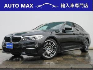 BMW 5シリーズ 523d Mスポーツ /純正HDDナビ/フルセグTV/360°カメラ/アダクティブクルーズコントロール/ブラインドスポットアシスト/LEDライト/