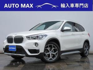 BMW X1 sDrive 18i xライン ハイラインパッケージ /1オーナー/コンフォートPKG/インテリジェントセーフティ/ブラウンレザーシート/コンフォートアクセス/社外地デジチューナー/