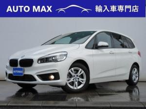 BMW 2シリーズ 218dグランツアラー /1オーナー/プラスPKG/コンフォートPKG/LEDライト/パワーバックドア/インテリジェントセーフティ/