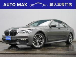 BMW 7シリーズ 740i Mスポーツ /サンルーフ/ヘッドアップディスプレイ/ハーマンカードンサウンド/黒レザーシート/シートヒーター/エアシート/アダクティブクルーズコントロール/
