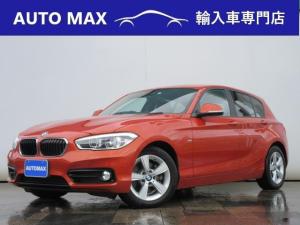 BMW 1シリーズ 118d スポーツ /パーキングサポートPKG/サンルーフ/ハーマンカードンサウンド/LEDライト/純正ナビ/バックカメラ/コンフォートアクセス/