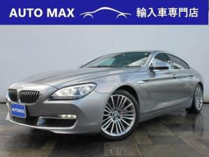 BMW 6シリーズ 640iグランクーペ Mスポーツ /純正ナビ/Bカメラ/ヘッドアップディスプレイ/黒レザーシート/アダクティブクルーズコントロール/オプション19インチAW/
