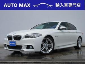 BMW 5シリーズ 523i Mスポーツ /サンルーフ/純正HDDナビ/フルセグTV/Bカメラ/キセノン/OP19インチAW/