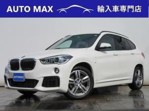 BMW X1 sDrive 18i Mスポーツ /1オーナー車/コンフォートPKG/純正HDDナビ/Bカメラ/シートヒーター/インテリジェントセーフティ/
