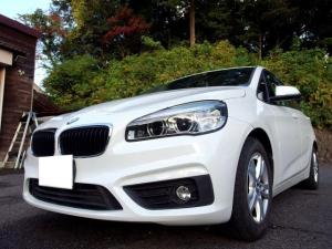 BMW 2シリーズ 218dアクティブツアラー 禁煙 ペット無 軽油 車線逸脱 ナビ Bカメラ