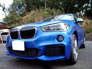 BMW X1 xDrive 18d Mスポーツ 禁煙 ペット無 軽油 ACC TV HDDナビ地デジ Bカメラ LEDランプ 電動リアゲート 衝突被害軽減ブレーキ