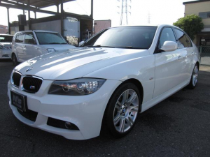 BMW 3シリーズ 320i Mスポーツパッケージ LCIモデル HIDライト LEDイカリング LEDフォグランプ HDDナビ フルセグTV バックモニター 17アルミ ミラーETC