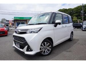 トヨタ タンク カスタムG-T 登録済未使用車 両側電動スライドドア スマートアシスト3 クルコン LEDライト シートヒーター オーディオレス ターボ車
