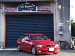 BMW 3シリーズ 320i サンルーフ HIDイカリング 両席パワーシート オートエアコン スマートキー プッシュスタート 純正16インチアルミホイール 走行44885km