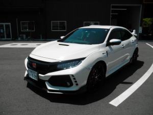 ホンダ シビック タイプR 新車ワンオーナー 走行700キロ 純正ナビ